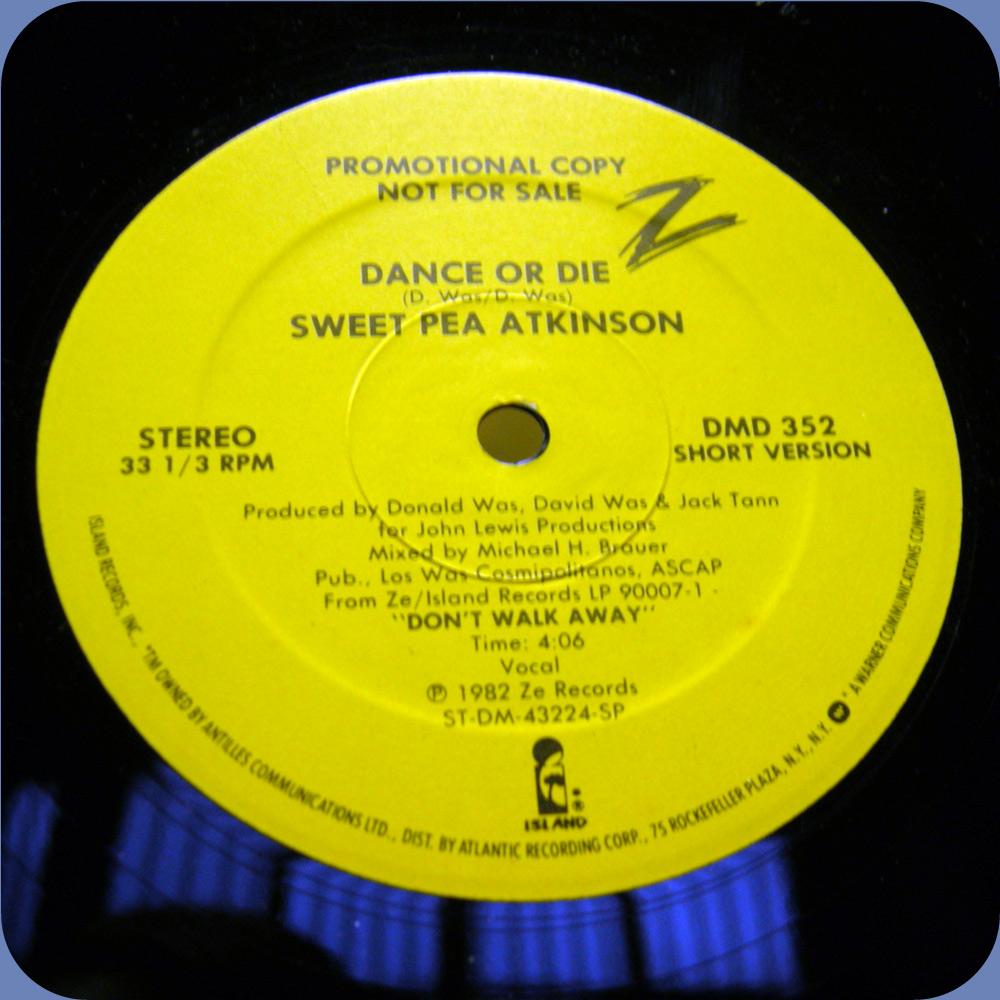 KEFIR: SWEET PEA ATKINSON - DANCE OR DIE 1982