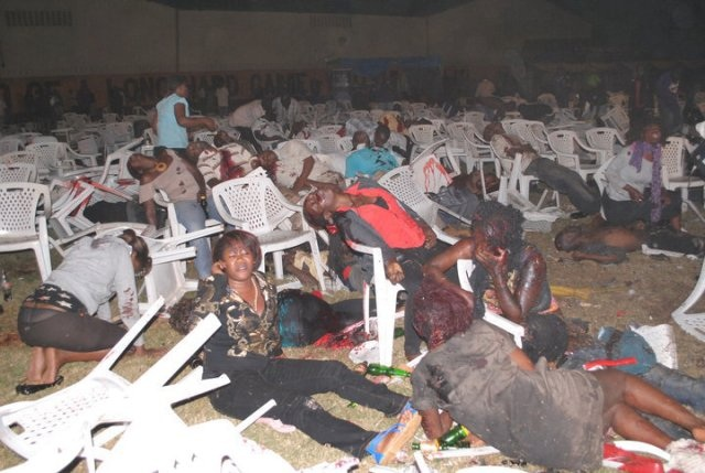 Violences en Afrique, Kampala, juillet 2010.