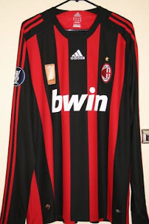huge selection of d902c bb552 The Football Kit Room: AC Milan Home Kits (2003-2008)