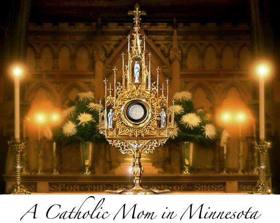 A Catholic Mom in Minnesota