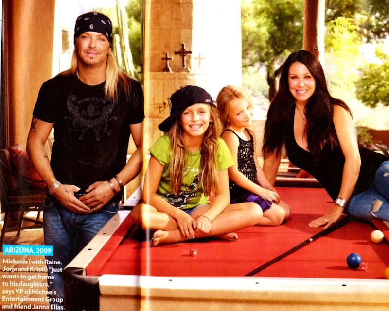 Bret Michaels And Kristi Gibson Are Now Engaged  Mind -6225