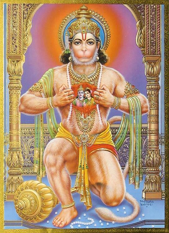 Cheng's blog: Hanuman in Ramayana!