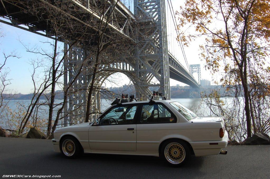 BMW E30 CARS: BMW E30 318i Roof Racks wallpapers