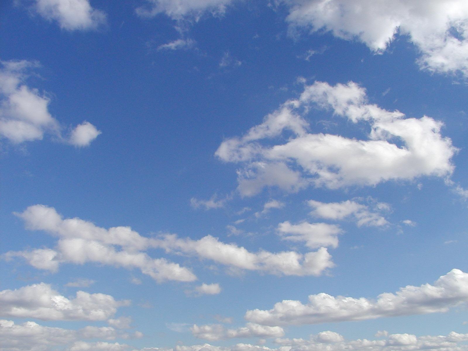 feliz: Himmel Wolken