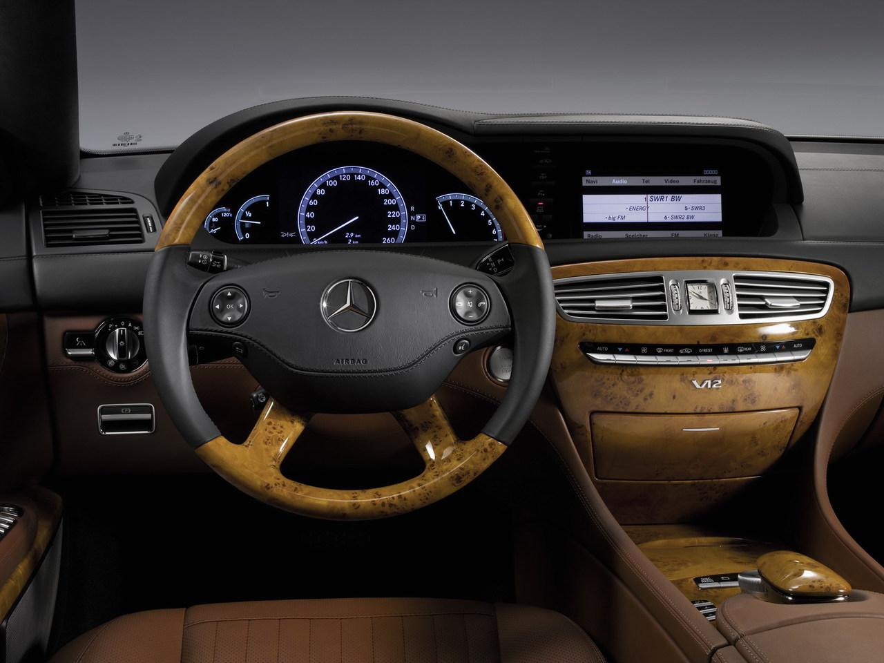 Mercedes-Benz CL Inside