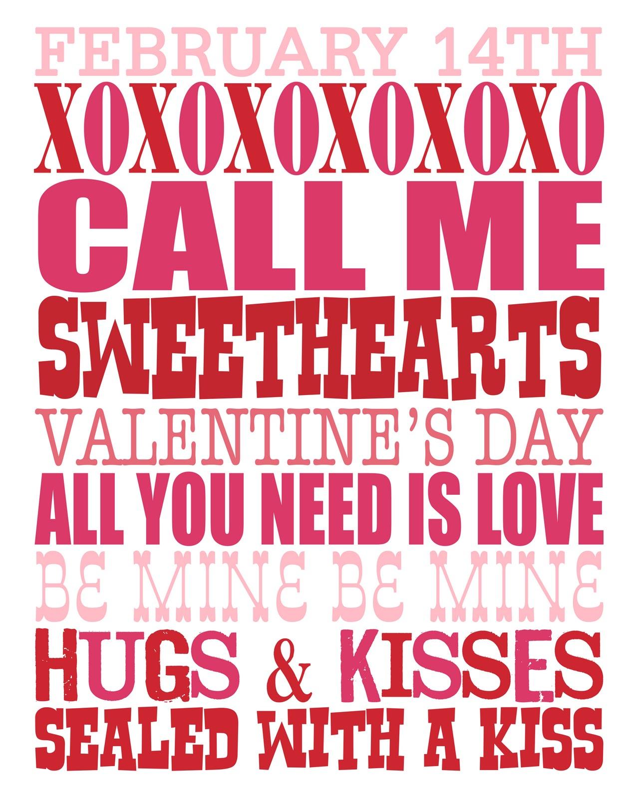 Ric Rac Rabbit Free Valentine S Day Printables
