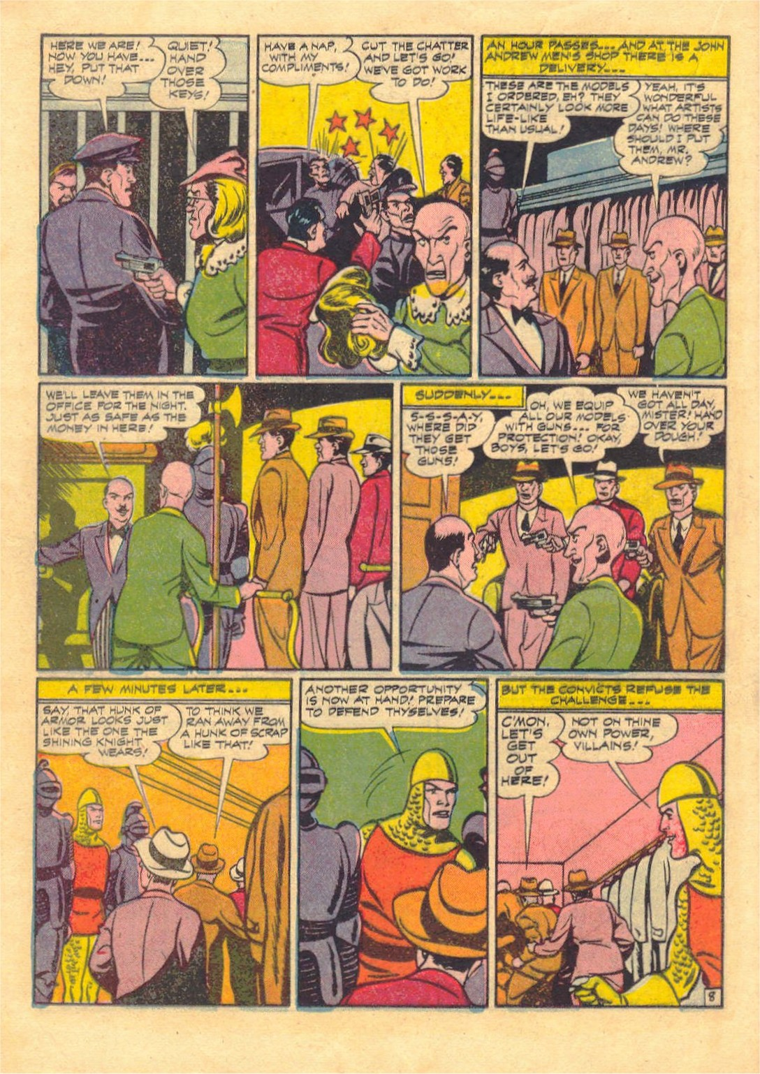Read online Adventure Comics (1938) comic -  Issue #87 - 28