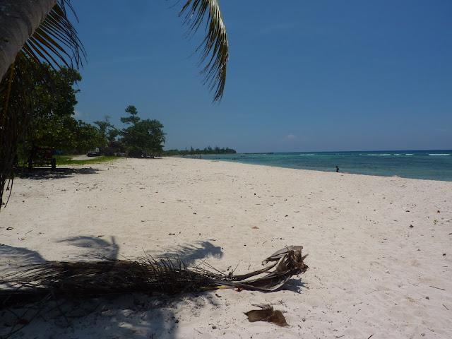 sabbia bianca a playa giron