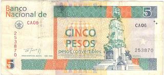 5 pesos convertibili