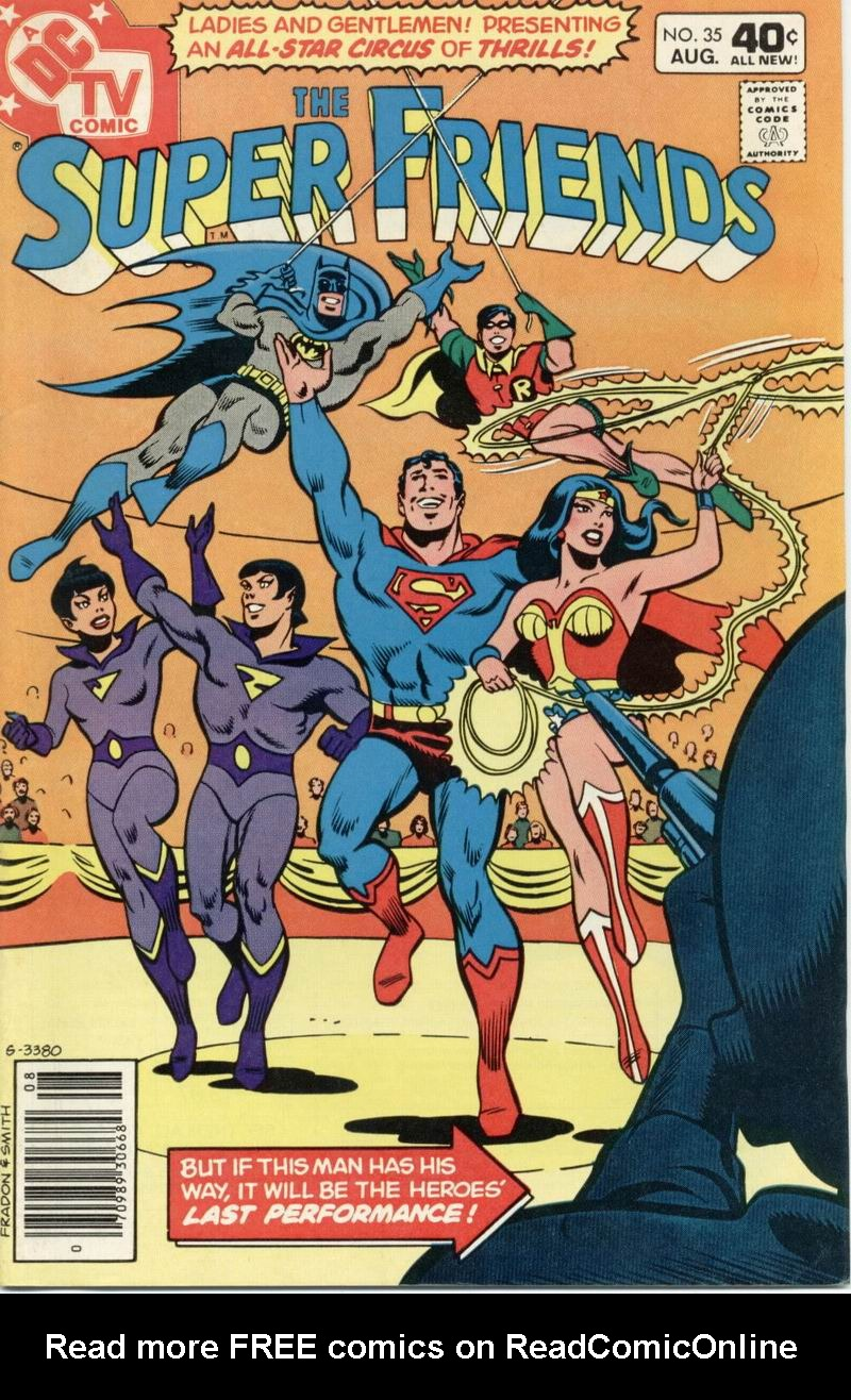 The Super Friends issue 35 - Page 1