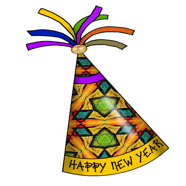 Happy New Year Party Hats