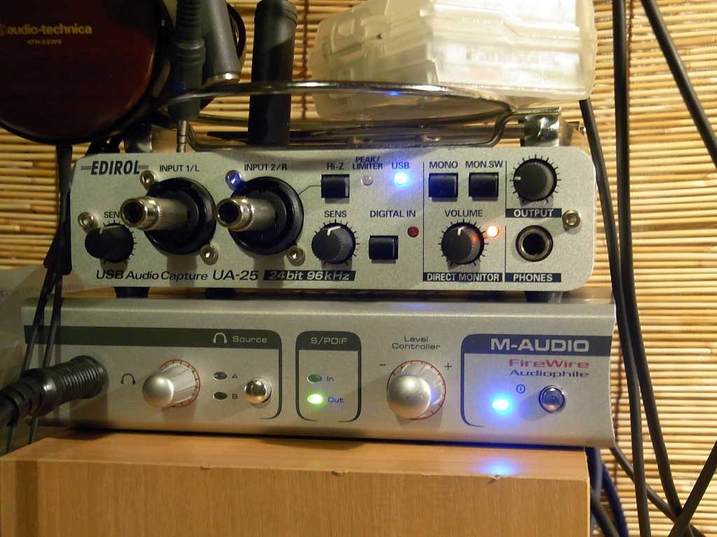 tabletop audio m audio firewire audiophile. Black Bedroom Furniture Sets. Home Design Ideas