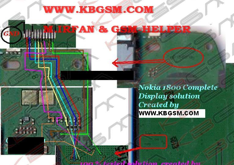 new product 30782 a0127 Nokia 1800 Display Solution 100 %%% working