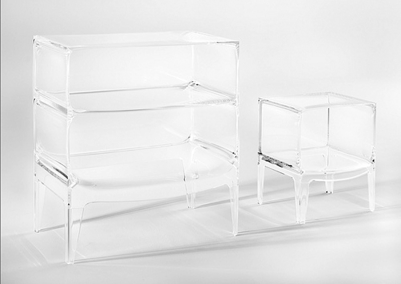 Comodino Ghost Buster Kartell.Kartell Ghost Buster Large Modern Storage Unit By Philippe Starck