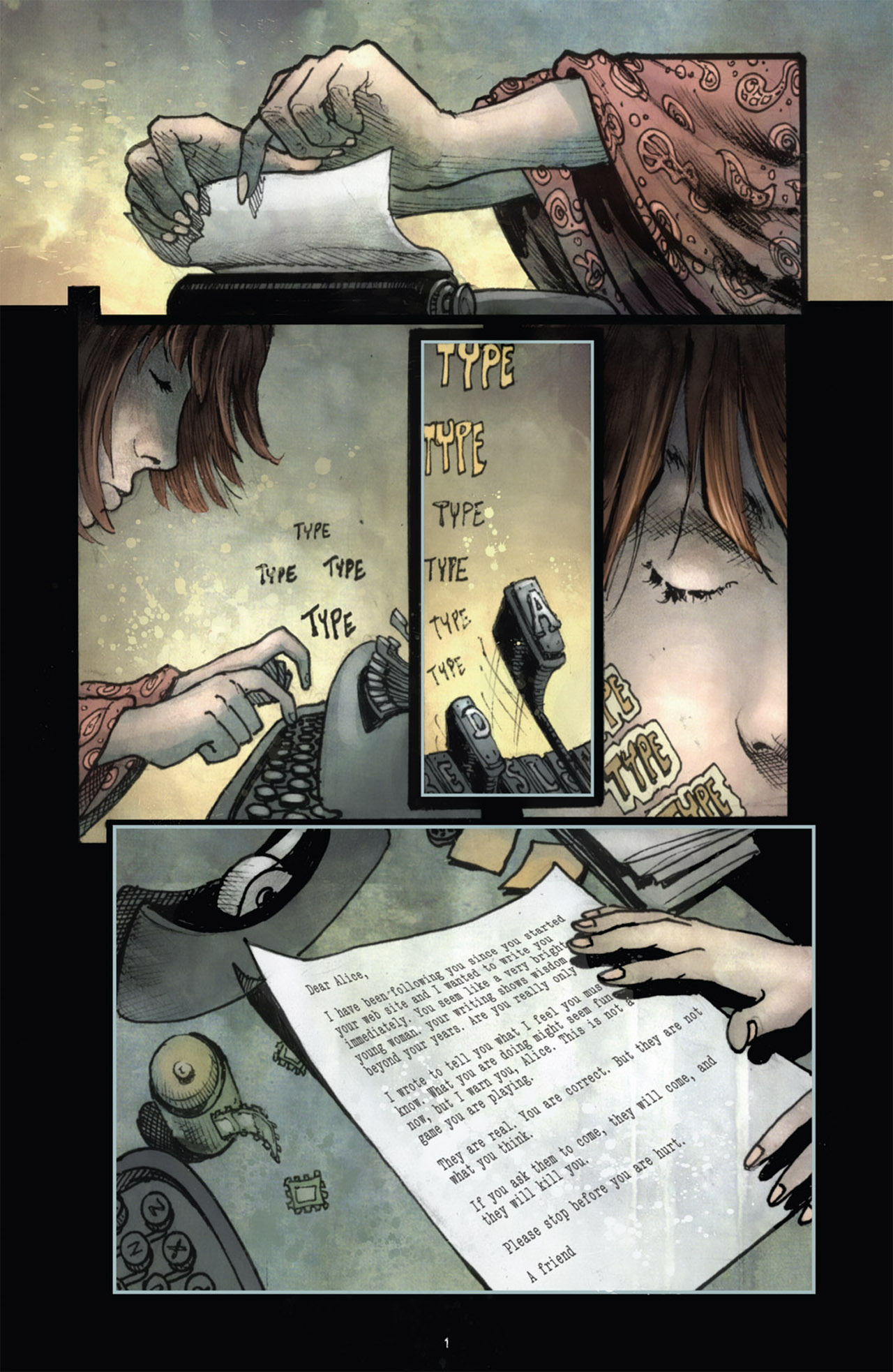 Read online 30 Days of Night (2011) comic -  Issue #1 - 5