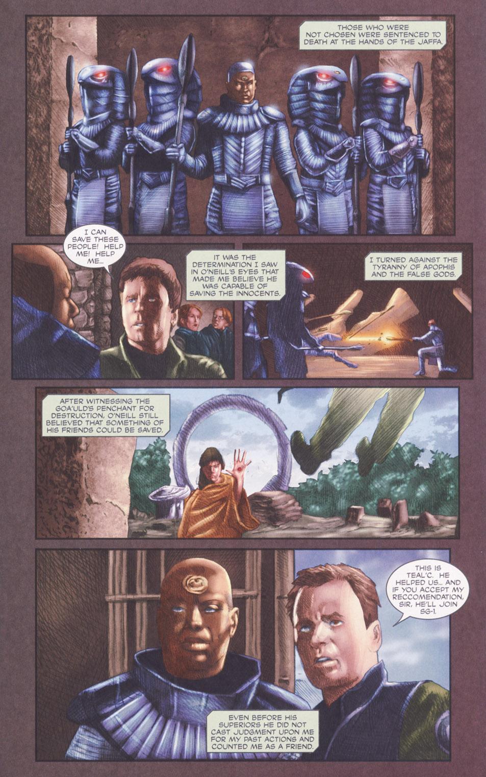 Read online Stargate SG-1: POW comic -  Issue #2 - 18