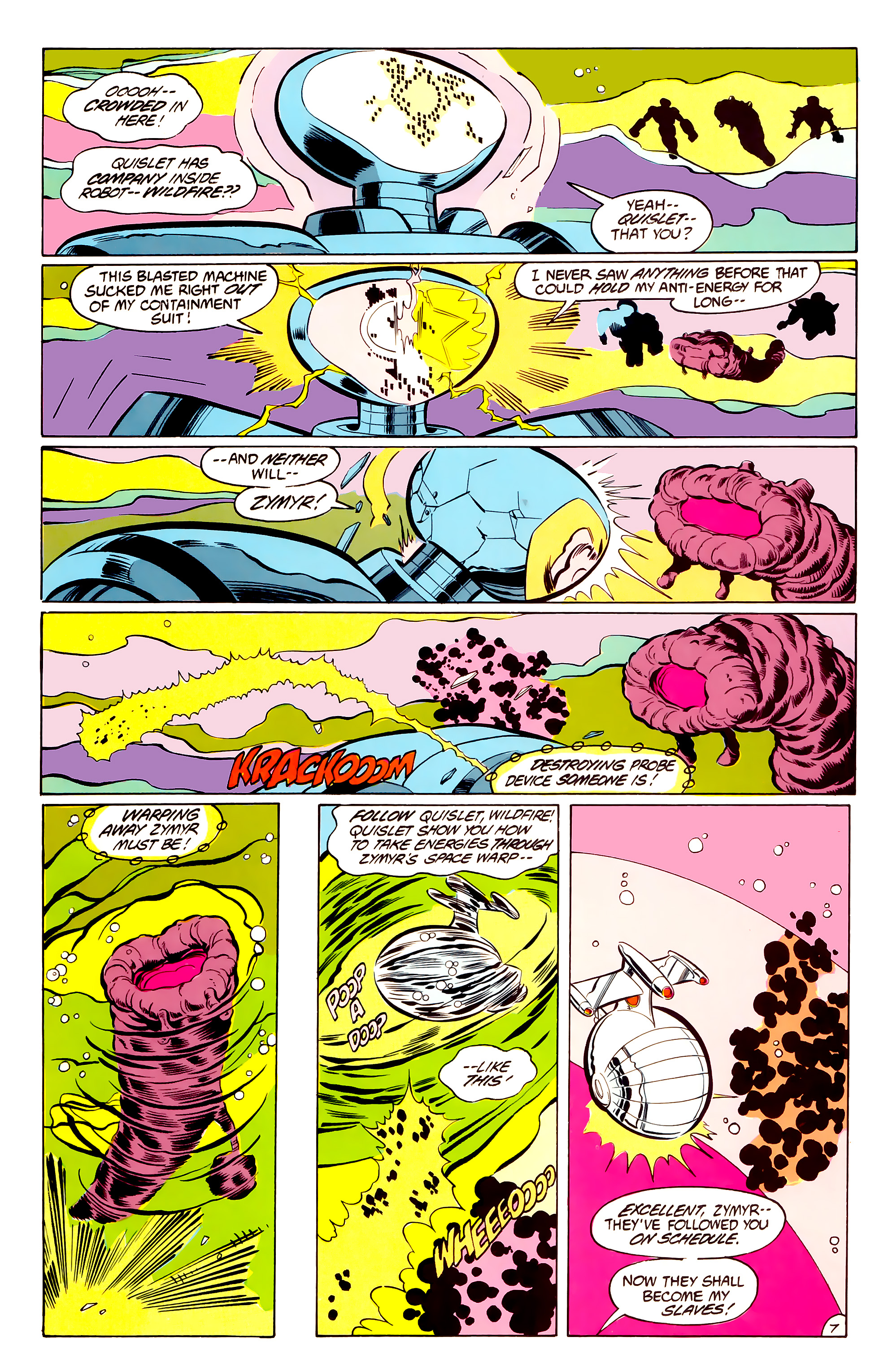 Legion of Super-Heroes (1984) 34 Page 7