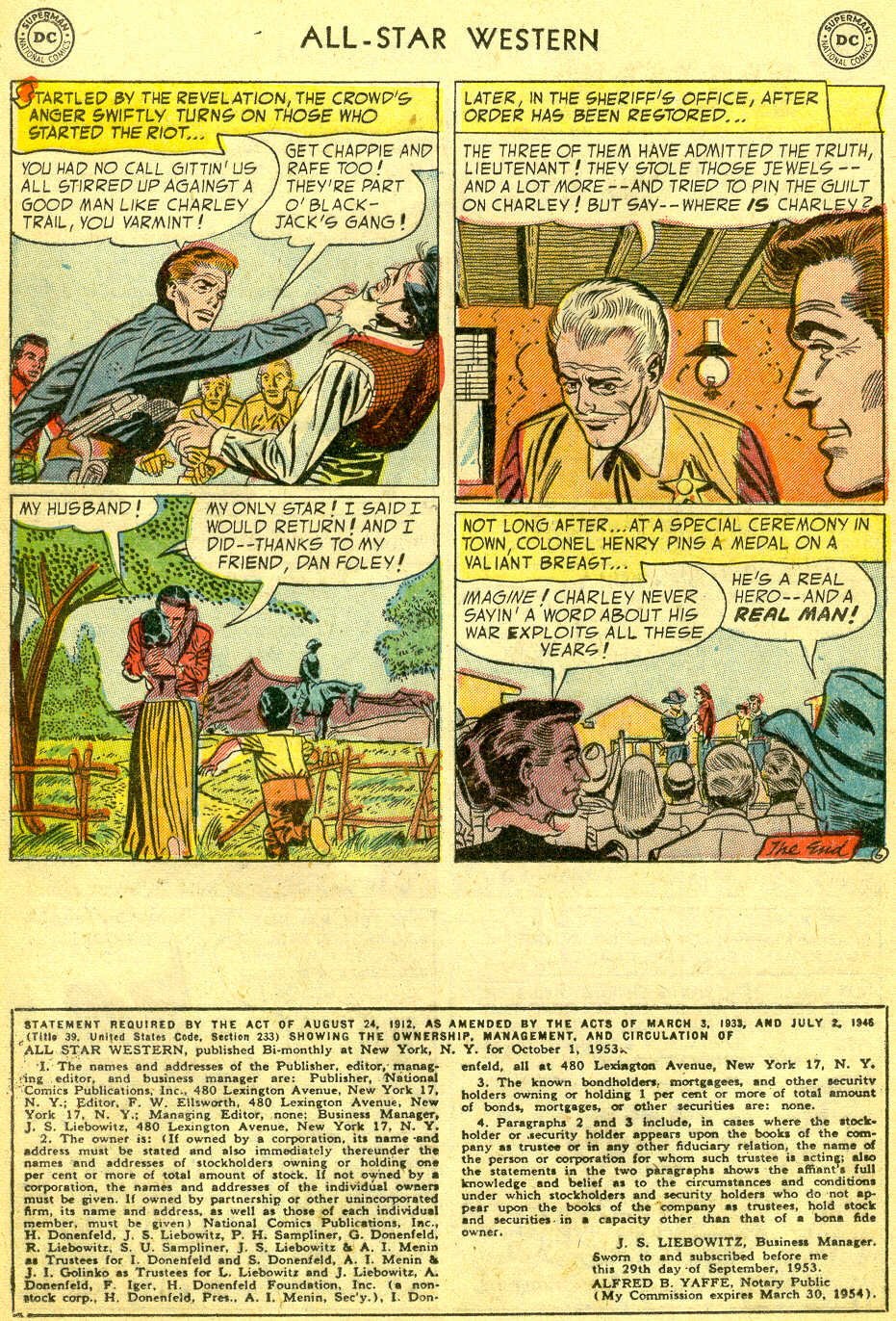 Read online All-Star Western (1951) comic -  Issue #75 - 24