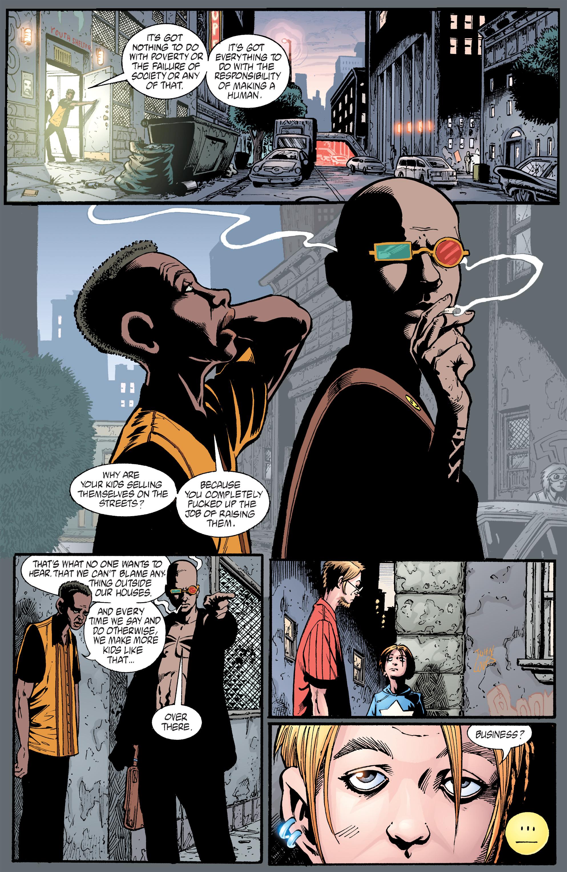 Read online Transmetropolitan comic -  Issue #40 - 23
