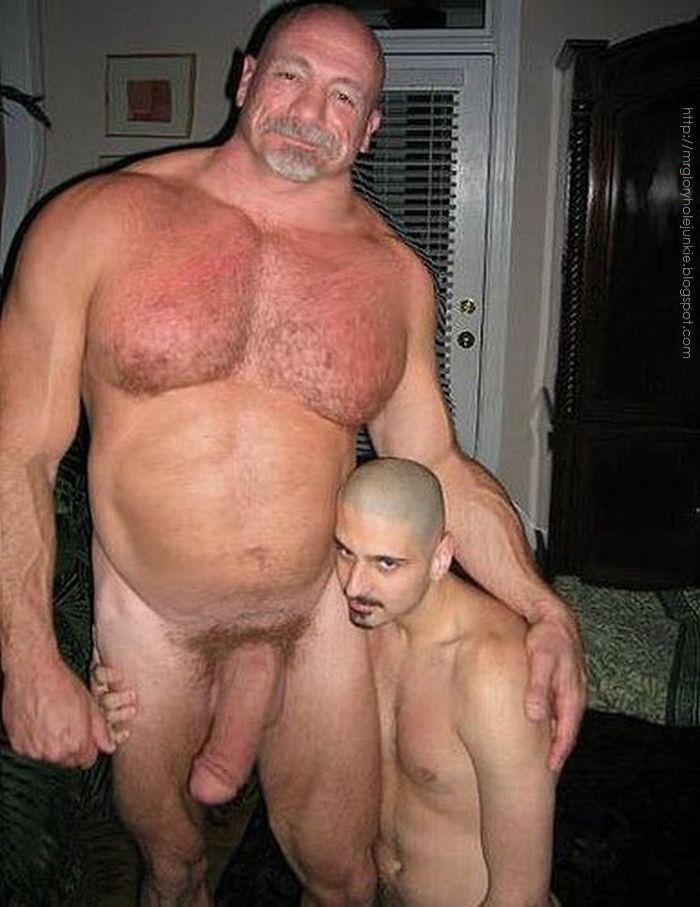black men naked Big buff