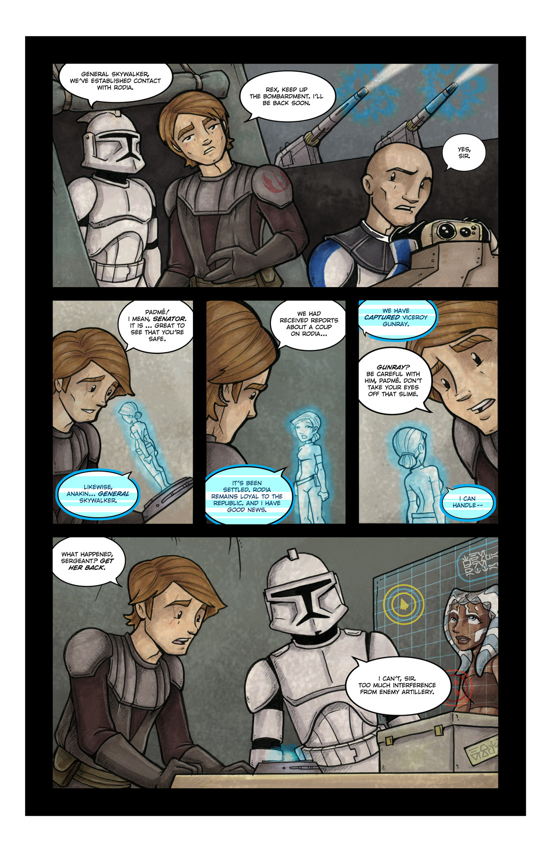 Read online Star Wars: Tales From The Clone Wars comic -  Issue # TPB - 62