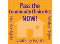 Community Choice Act logo