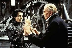 Vincent Price Edward Scissorhands