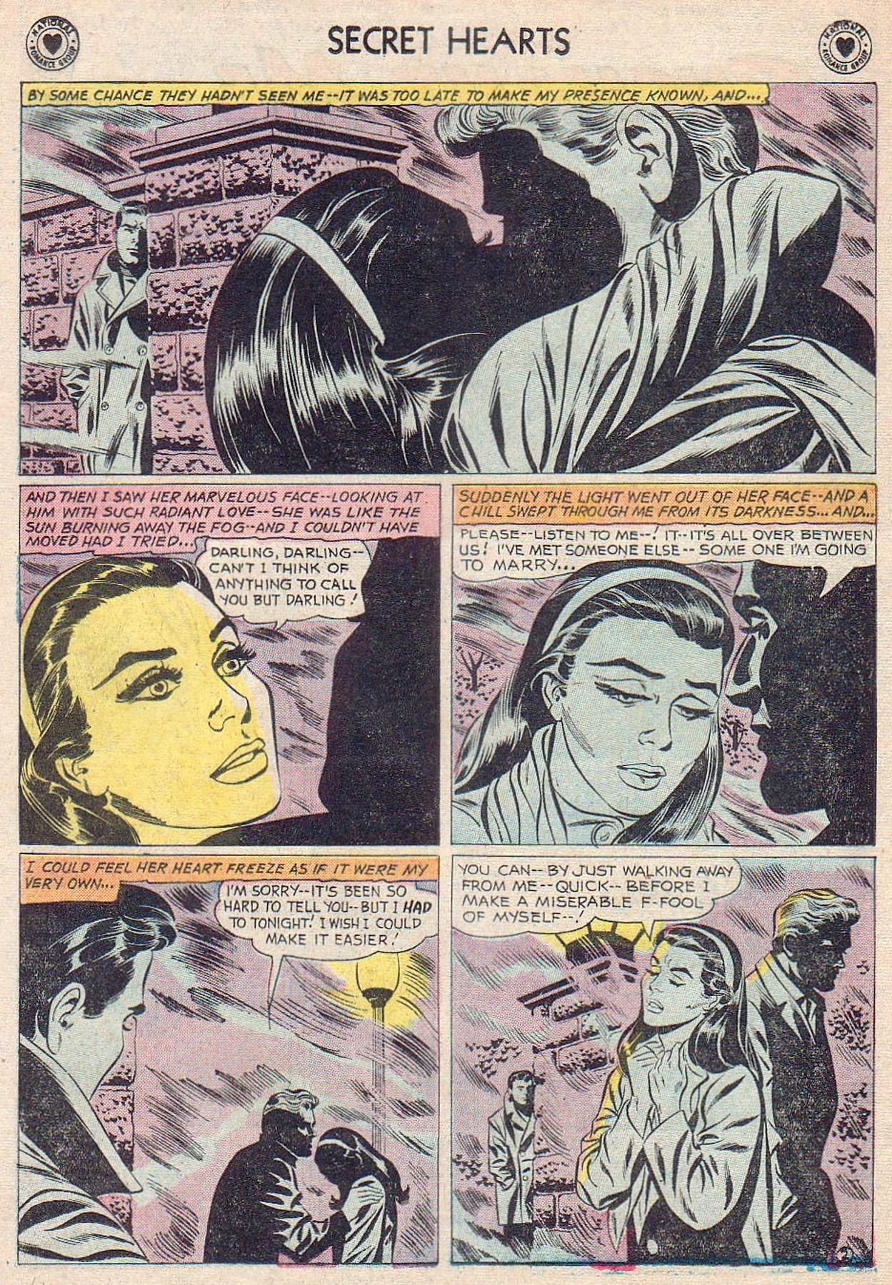 Read online Secret Hearts comic -  Issue #61 - 4