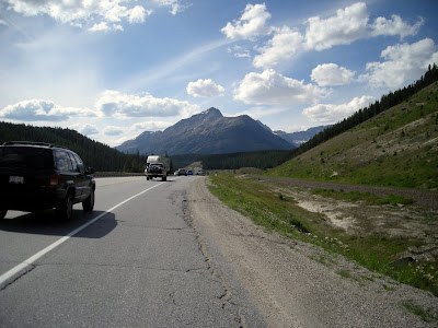 Heavy Traffic on Trans Canada Route 1