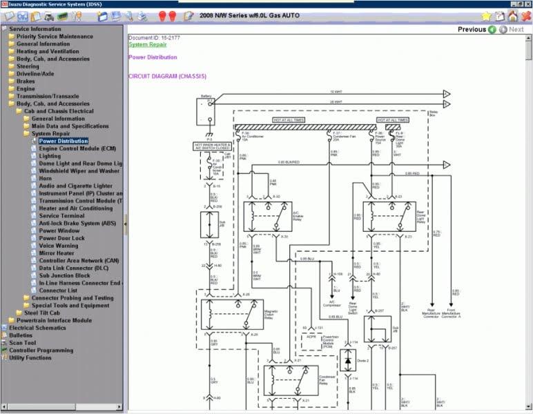 2000 Isuzu Npr Wiring Diagram Wiring Site Resource