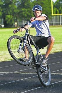 World Fastest Bicycle Wheelie World Record Set By Jake Drummond