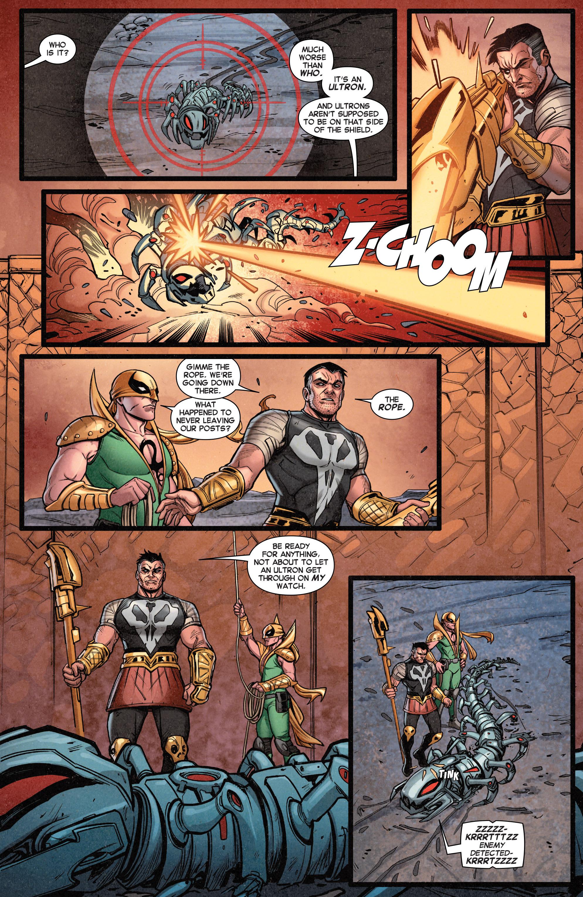Read online Secret Wars Journal comic -  Issue #4 - 5