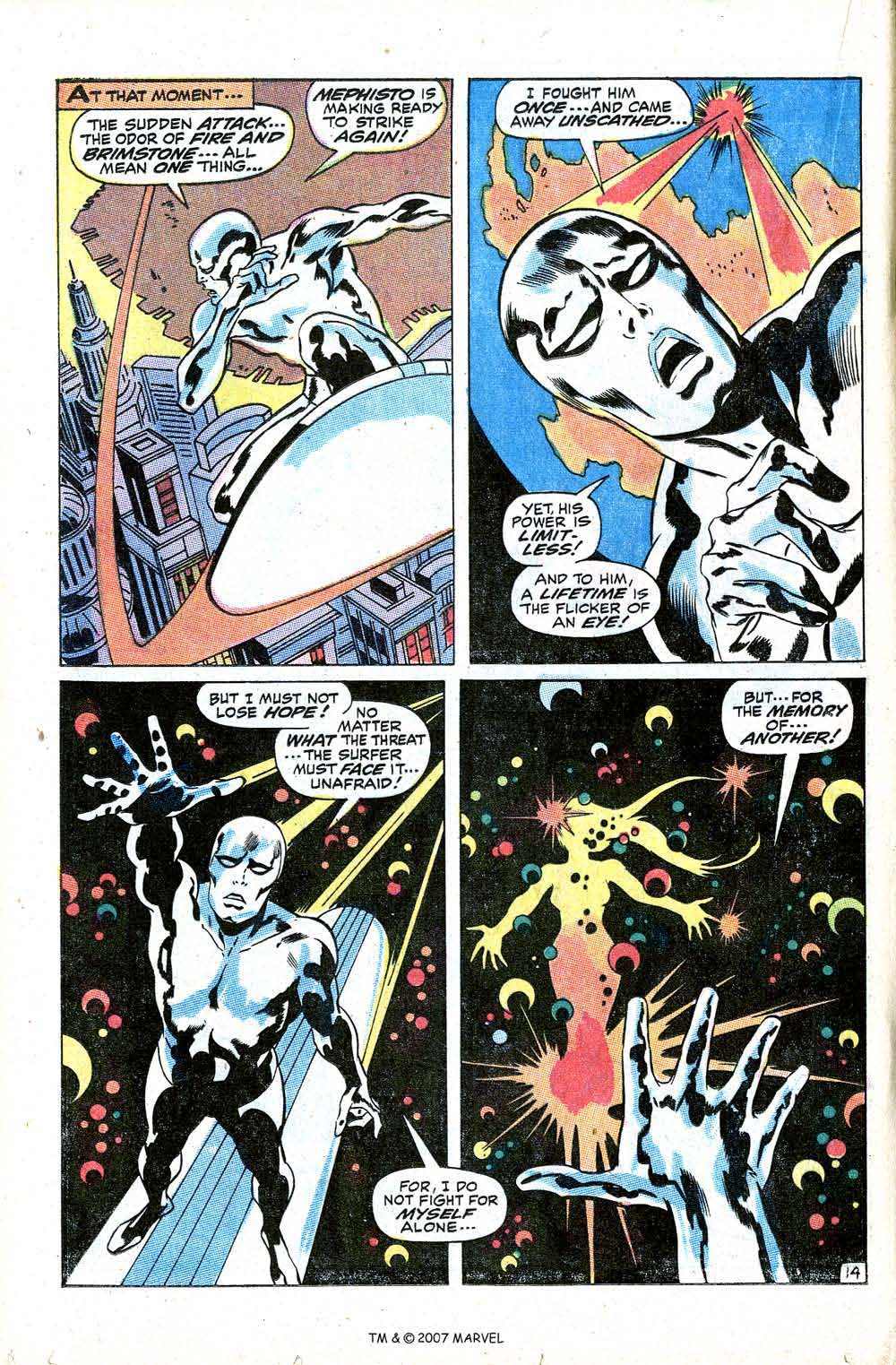 Read online Silver Surfer (1968) comic -  Issue #8 - 20