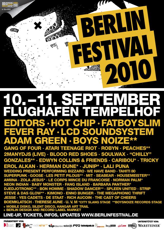 Berlin Festival 2010   TRIPS TO BERLIN