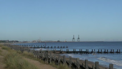 In the distance the cranes on Great Yarmouth outer harbour which started construction in 2007 and was completed in 2010. Now the cranes are to be shipped off and sold having never been used. Personally I thought this was a white elephant of a project from the start. It was conceived as a ferry terminal with a predicted 150,000 trucks passing through each year. With no major road or rail networks to and from Great Yarmouth it was doomed to fail from the start!