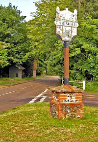 Chrishall village sign
