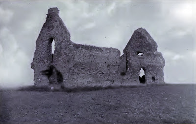 The ruins of Leiston Chapel as seen in the late 1800's