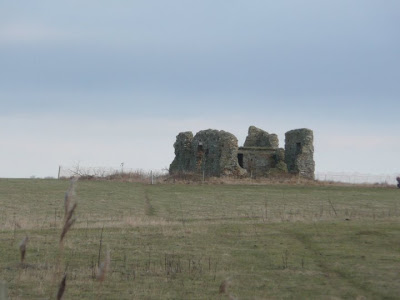 The ruins of Leiston Chapel, the only surviving monument to Leiston Abbey when it stood in Minsmere marshes