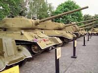 танки в музее великой отечественной войны