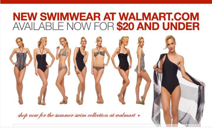 Bargain Alert! New Normal Kamali Swimsuits arrive at Walmart