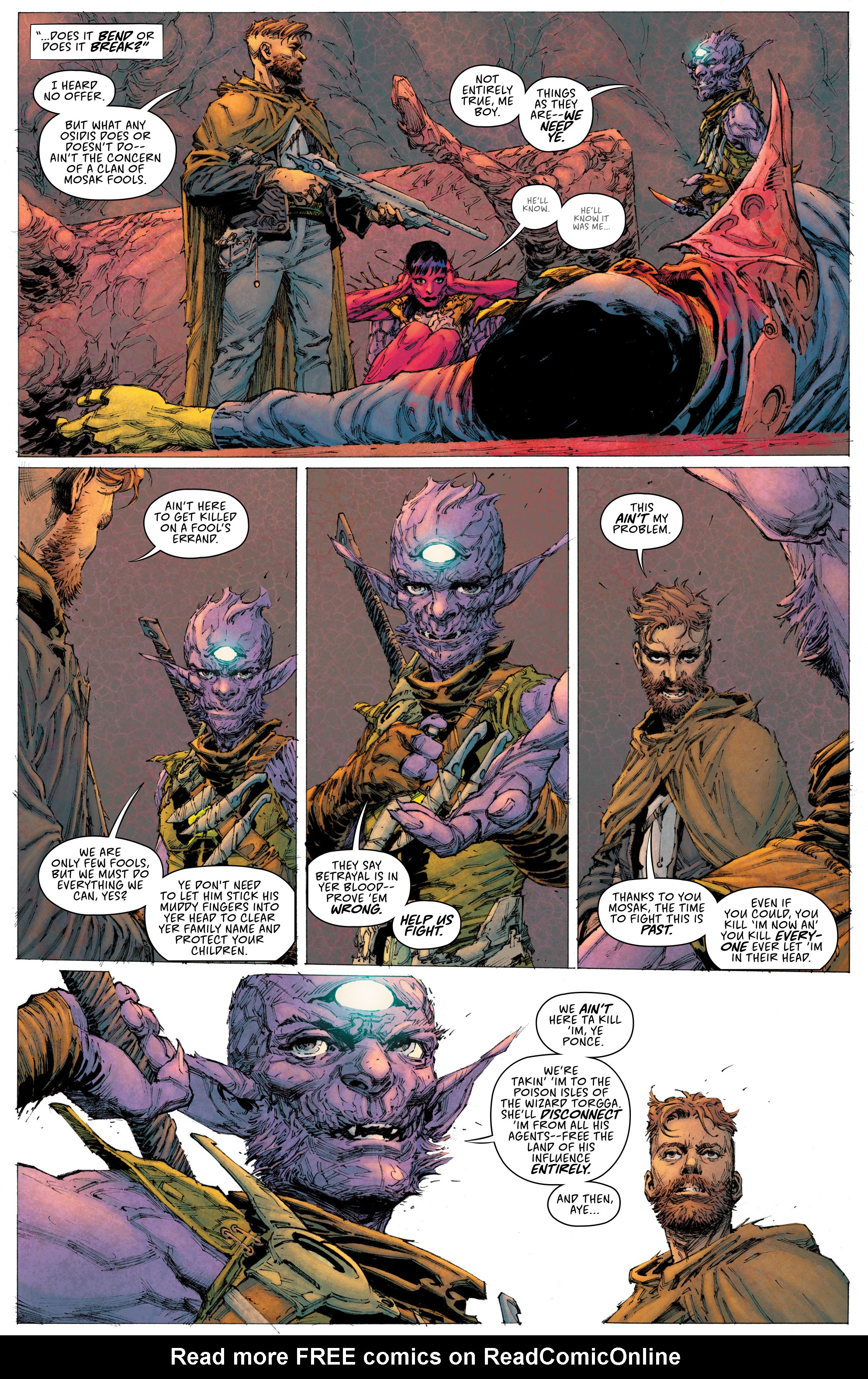 Read online Seven To Eternity comic -  Issue #3 - 7
