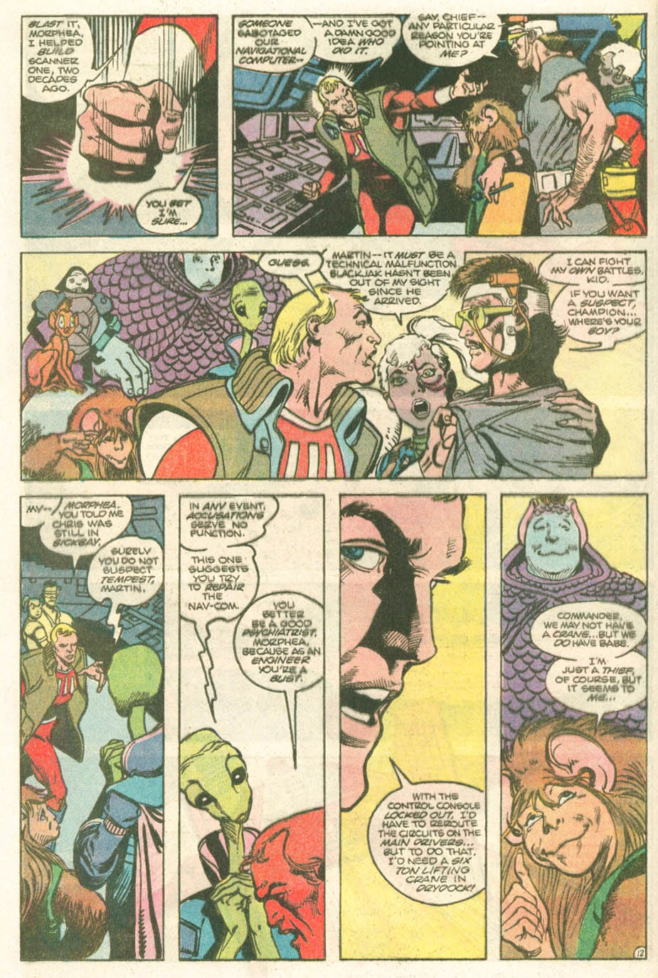 Read online Atari Force (1984) comic -  Issue #11 - 14