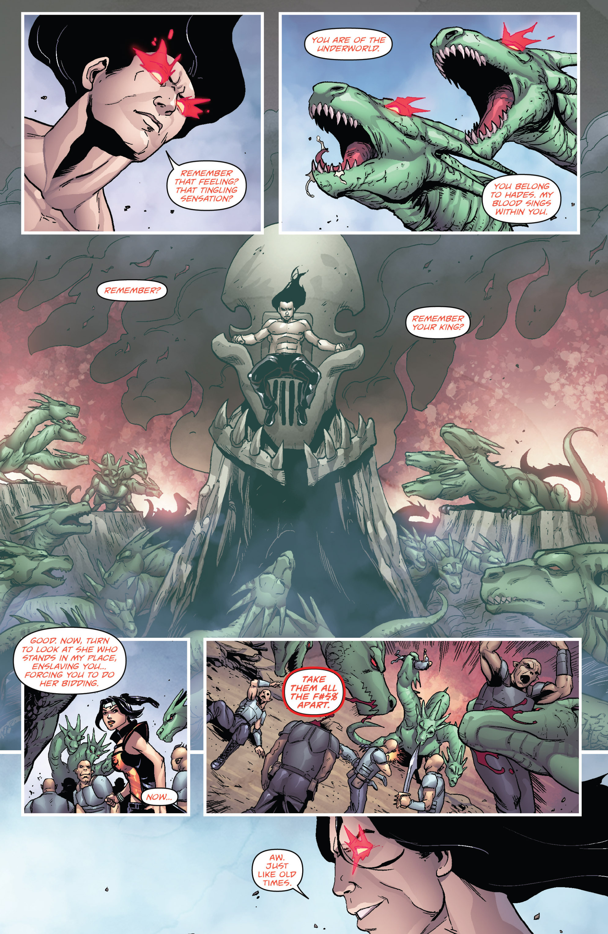 Read online Grimm Fairy Tales presents Cinderella: Age of Darkness comic -  Issue #2 - 4