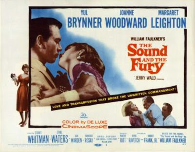 the passionate moviegoer cinema obscura martin ritt s the sound  cinema obscura martin ritt s the sound and the fury 1958