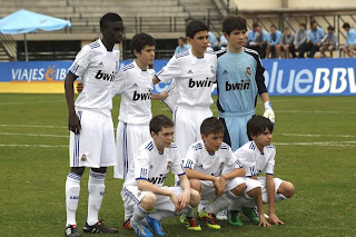 Real Madrid alevin Spanish Soccer
