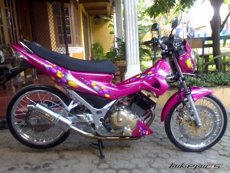 Sticker Design For Motorcycle Raider 150 >> motor sport modification: Modifikasi Suzuki Raider Velg TDR ET SHAPE