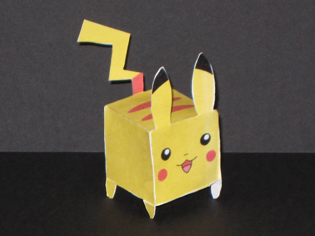 Heres A Simple One Piece Pikachu Papercraft By Lee Urn Lun Of Malaysia As Everyone Knows Is The Main Characters In Pokemon Video Games