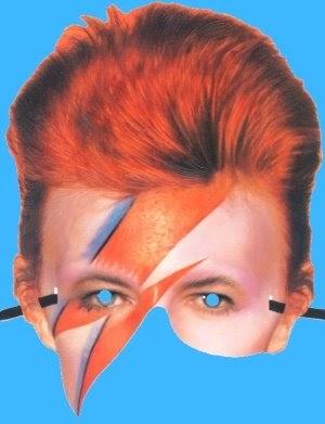 photo relating to Et Mask Printable named David Bowie Paper Mask Tektonten Papercraft