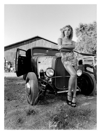 Pin Up Girl Wallpaper Black And White The Automobile And American Life Rat Rods Cars And