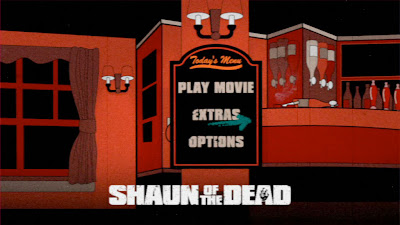 Image result for shaun of the dead dvd menu
